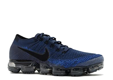 a8dcc79c4a19f Image Unavailable. Image not available for. Colour  SasleTOPS Air Vapormax  Flyknit College Navy Black Game Royal 849558 400 Mens Running Shoes