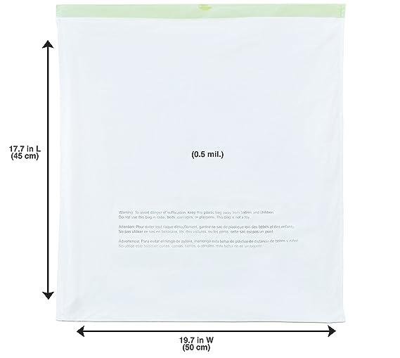 NINESTARS NSTB-3-30 Extra Strong White Trash Bag w/Drawstring Closure, 3 Gal. / 12 L., 30 count