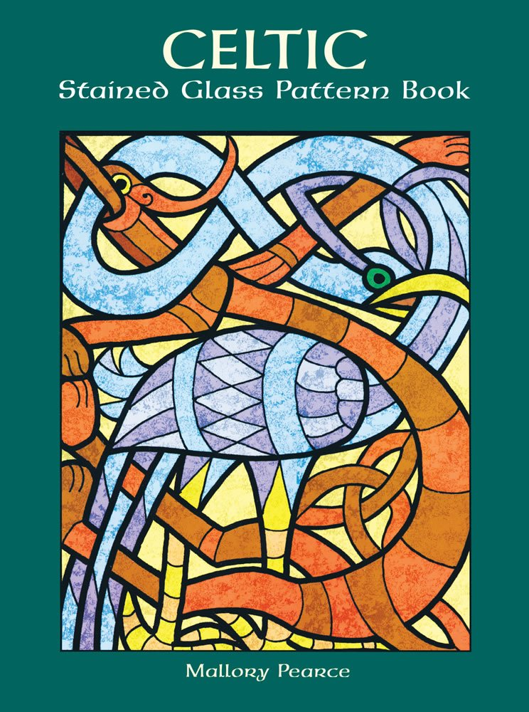 Celtic Stained Glass Pattern Book (Dover Stained Glass Instruction)