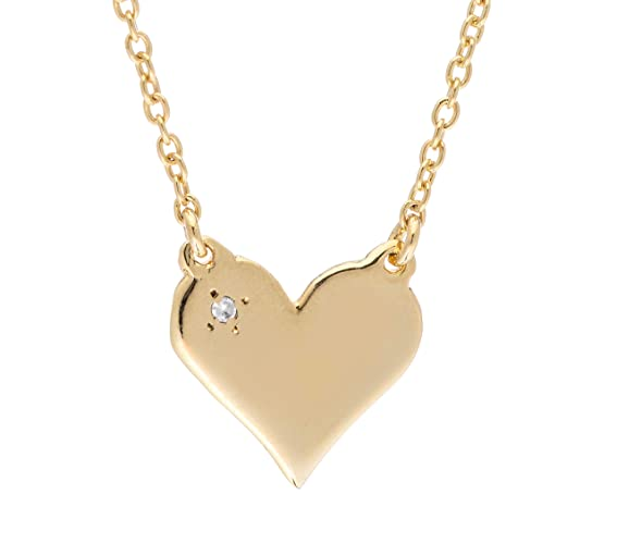 9a12220d62f3 Image Unavailable. Image not available for. Color  Gold Heart Pendant