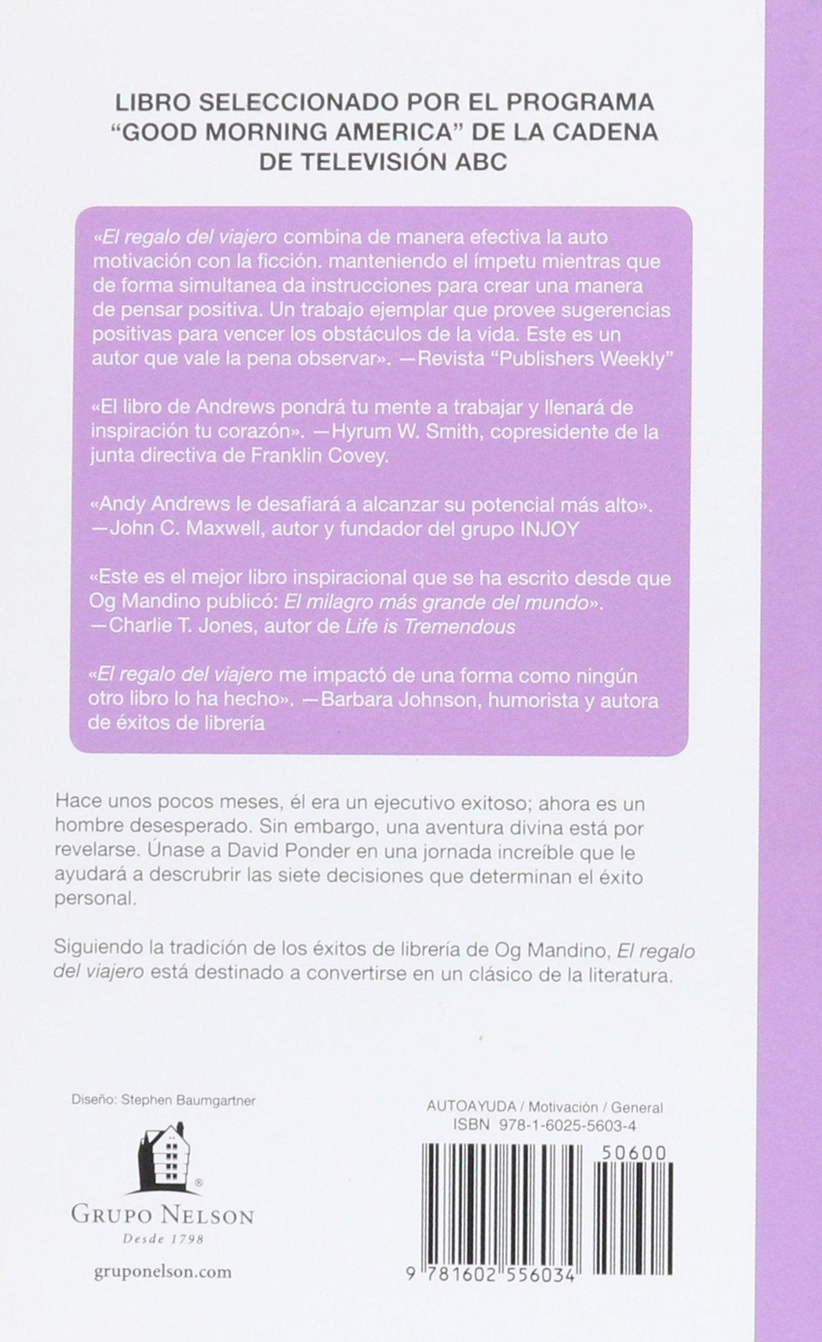 El regalo del viajero (Nelson Pocket: Motivacion) (Spanish Edition)