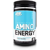 OPTIMUM NUTRITION ESSENTIAL AMINO ENERGY, Cotton Candy, Keto Friendly BCAAs, Preworkout and Essential Amino Acids with…
