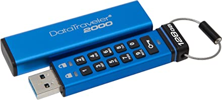 Kingston Digital Releases 128GB Capacity Addition to DataTraveler 2000 Encrypted USB