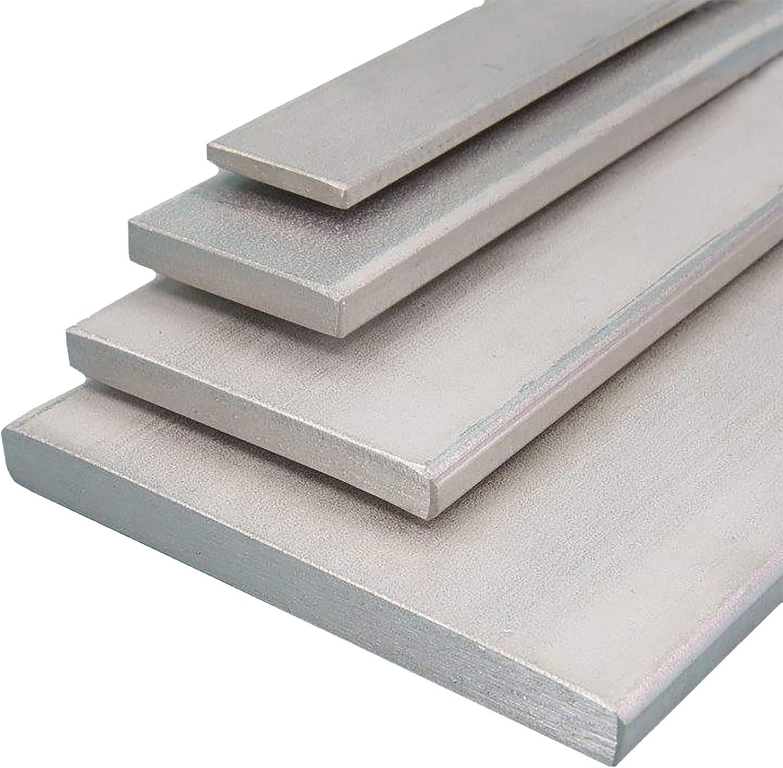 Aluminium Flachmaterial Oberfl/äche blank gezogen L/änge 2000 mm Abmessungen 80 x 8 mm