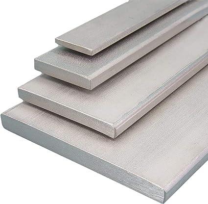 gezogen Aluminium Flachmaterial Oberfl/äche blank L/änge 1000 mm Abmessungen 60 x 8 mm