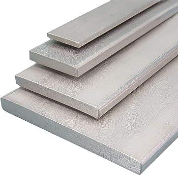 L/änge 100 mm Abmessungen 100 x 6 mm Edelstahl Flachstahl V2A Oberfl/äche blank FRACHTFREI