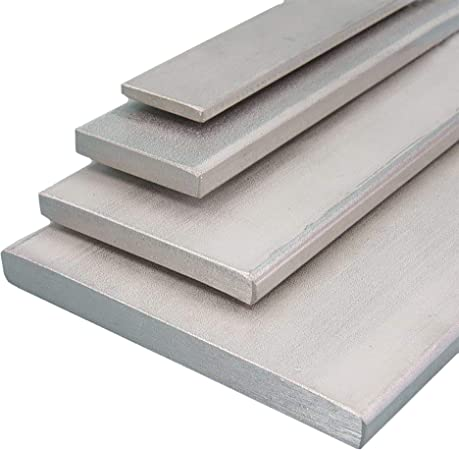 L/änge 1000 mm Abmessungen 80 x 5 mm gezogen Aluminium Flachmaterial Oberfl/äche blank