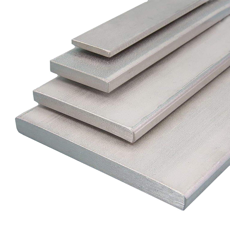L/änge 1000 mm Abmessungen 20 x 4 mm Aluminium Flachmaterial Oberfl/äche blank gezogen FRACHTFREI