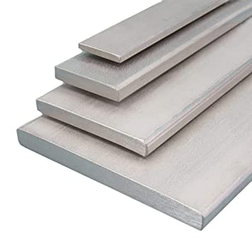 L/änge 2000 mm Abmessungen 80 x 4 mm gezogen Aluminium Flachmaterial Oberfl/äche blank