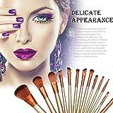 Donet 12pcs Cosmetic Makeup Brush Set Kit Powder Foundation Eyeshadow Eyeliner Lip Brush Tool