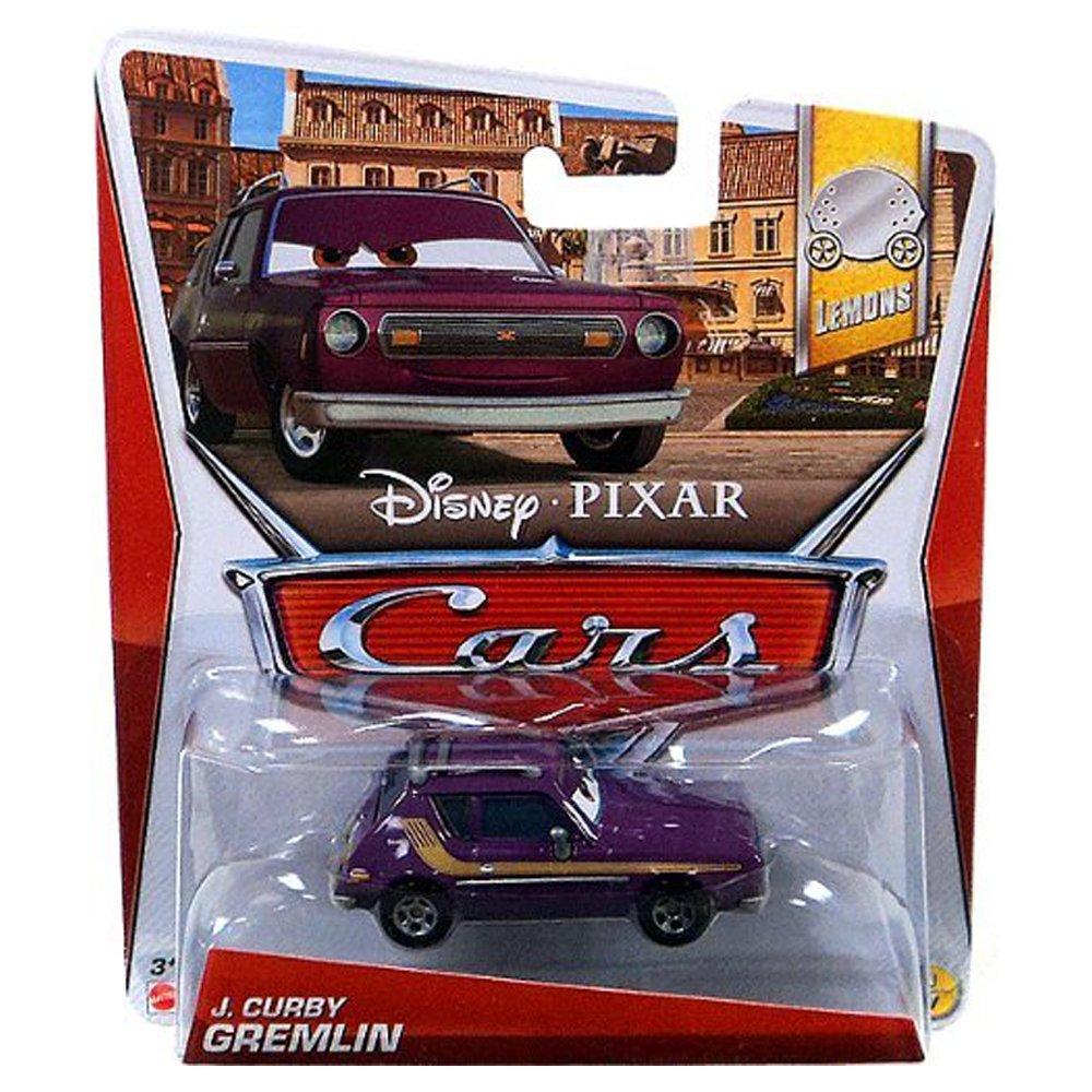 Amazon com disney pixar cars lemons die cast j curby gremlin 1 7 1 55 scale toys games