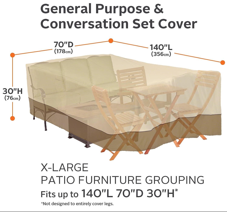 Amazon.com: Classic Accessories Veranda - Funda para muebles ...