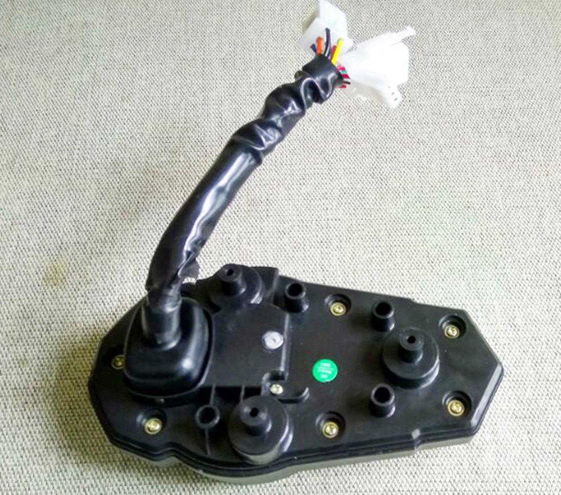 Samdo 199 Km//h Universal 6 Gear LCD Digital Odometer Motorcycle Speedometer Tachometer Gauge 13000 RPM