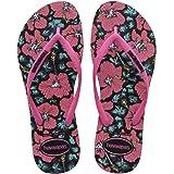 havaianas Womens Slim Floral Sandal Slim Floral Sandal