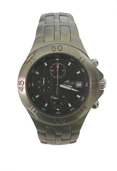 Lotus reloj hombre cronógrafo en titanio 15184/4