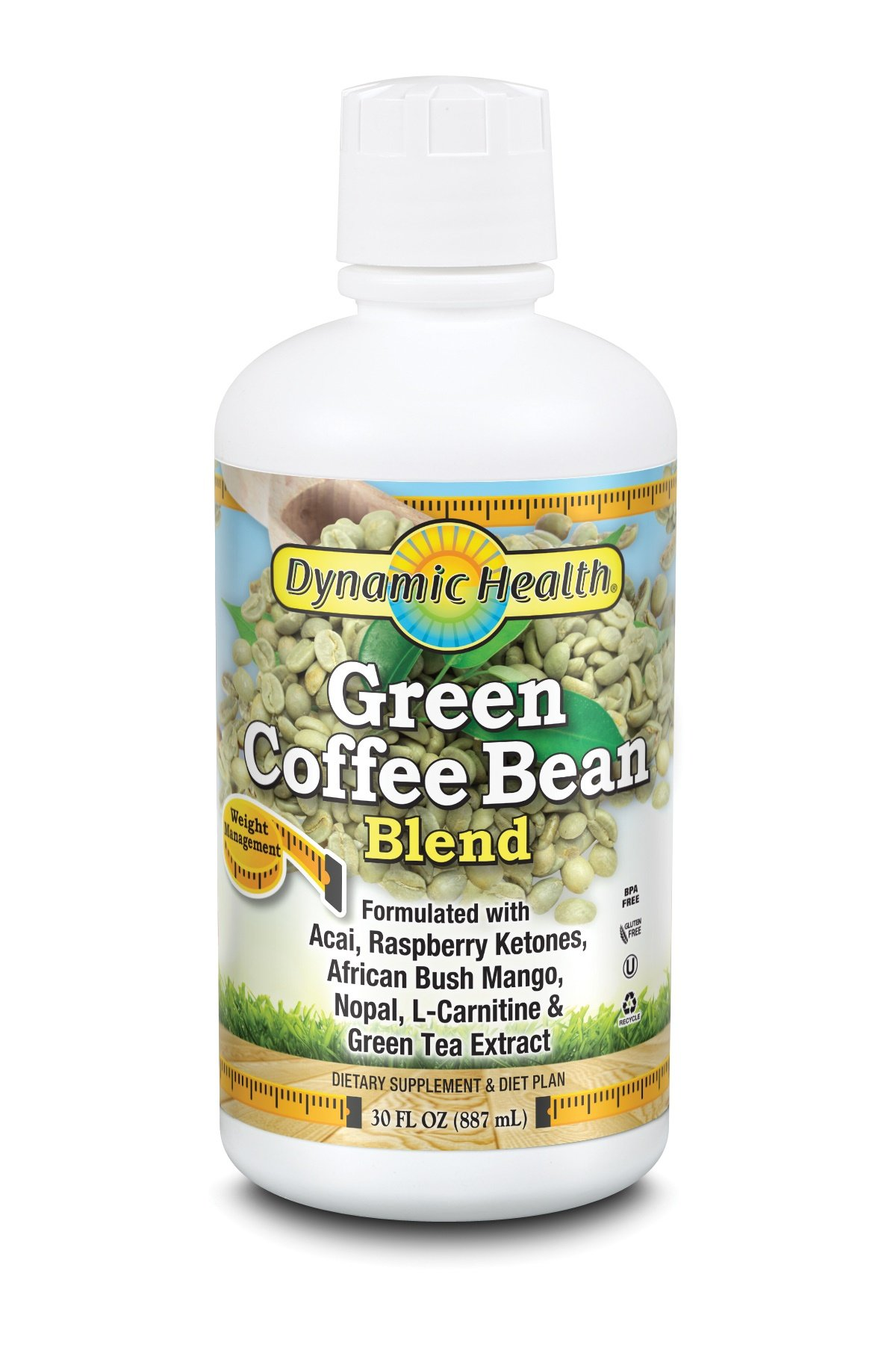 Dynamic Health Green Coffee Bean Juice Blend, 30 Fluid Ounce by Dynamic Health (Image #1)