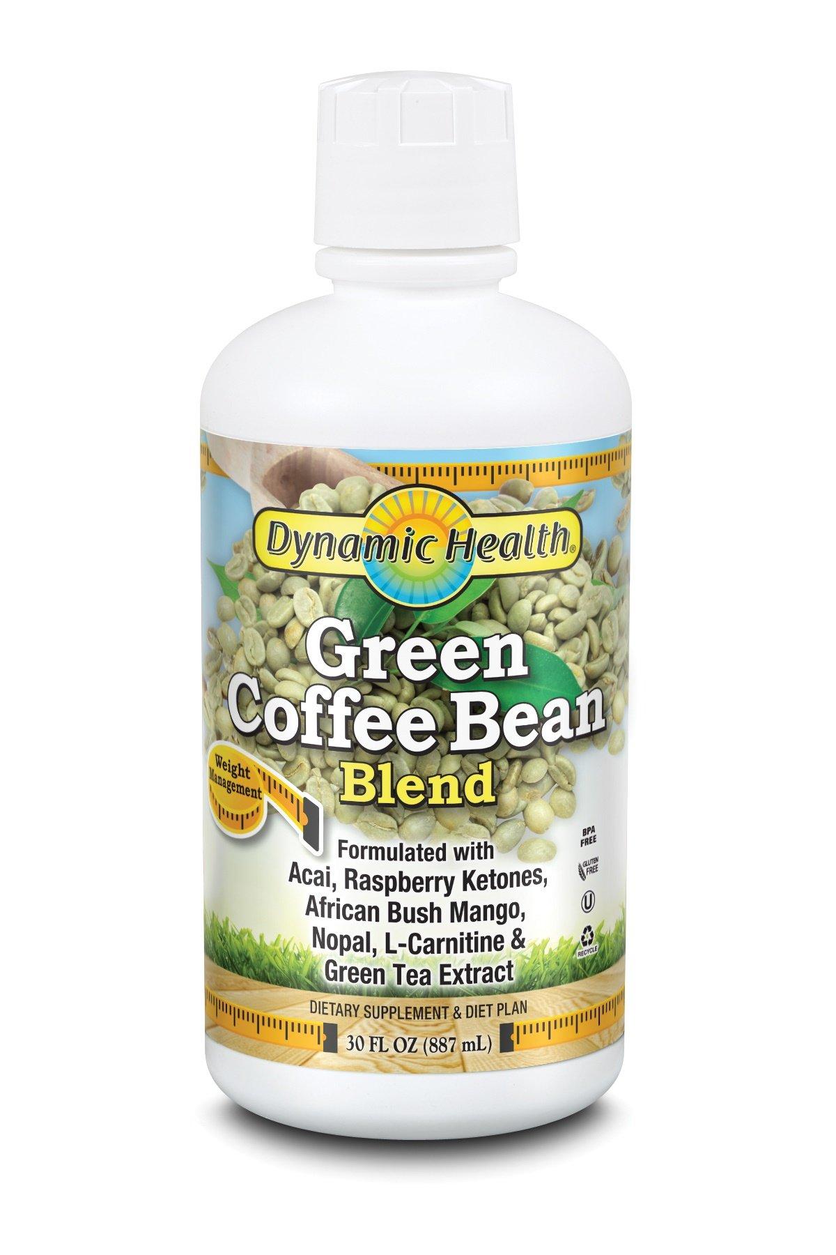 Dynamic Health Green Coffee Bean Juice Blend, 30 Fluid Ounce