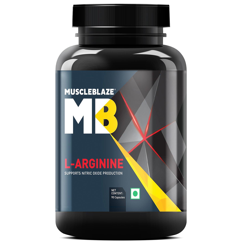MuscleBlaze LArginine 90 capsules