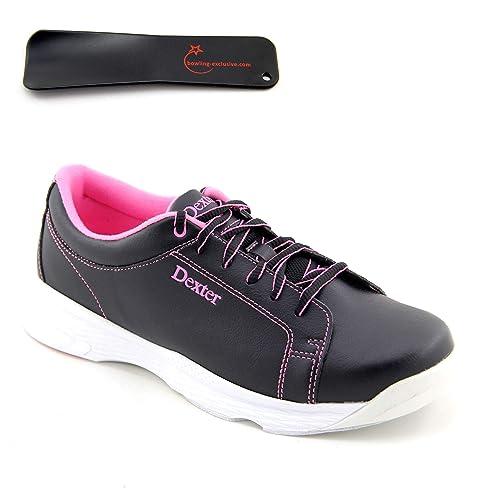 brand new 06a52 3bb01 Damen Bowlingschuhe Dexter Raquel V schwarz pink inkl ...