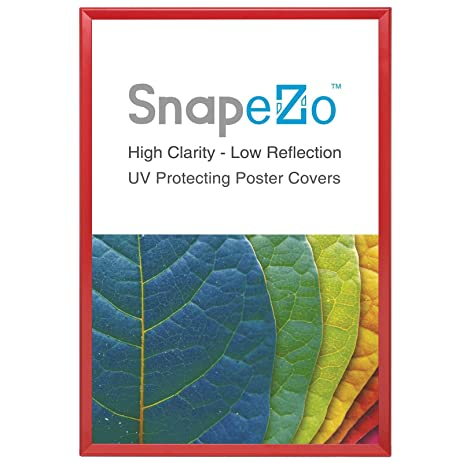 Amazon.com - Poster Frame 36x48 Inches, Red SnapeZo 1.25\
