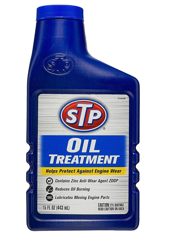 STP Engine Flush 450 Ml & STP Oil Treatment 443Ml