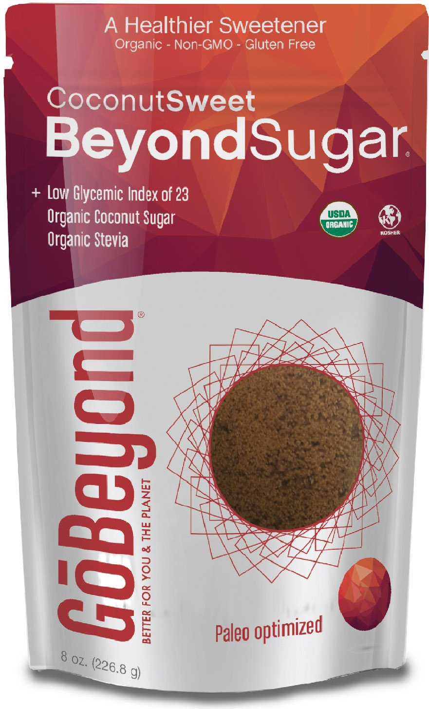 Amazon com : GoBeyond Foods Natural Sweetener Coconut Sweet