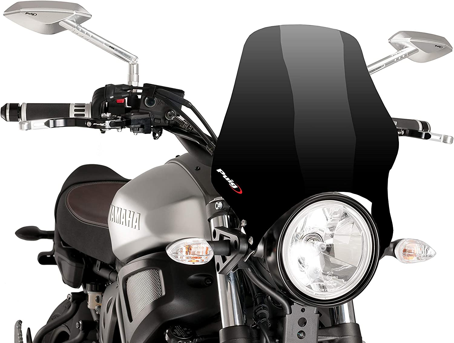 slightly GS550D Puig 0869H1242 Windscreen NAKED compatible for Suzuki GS 550