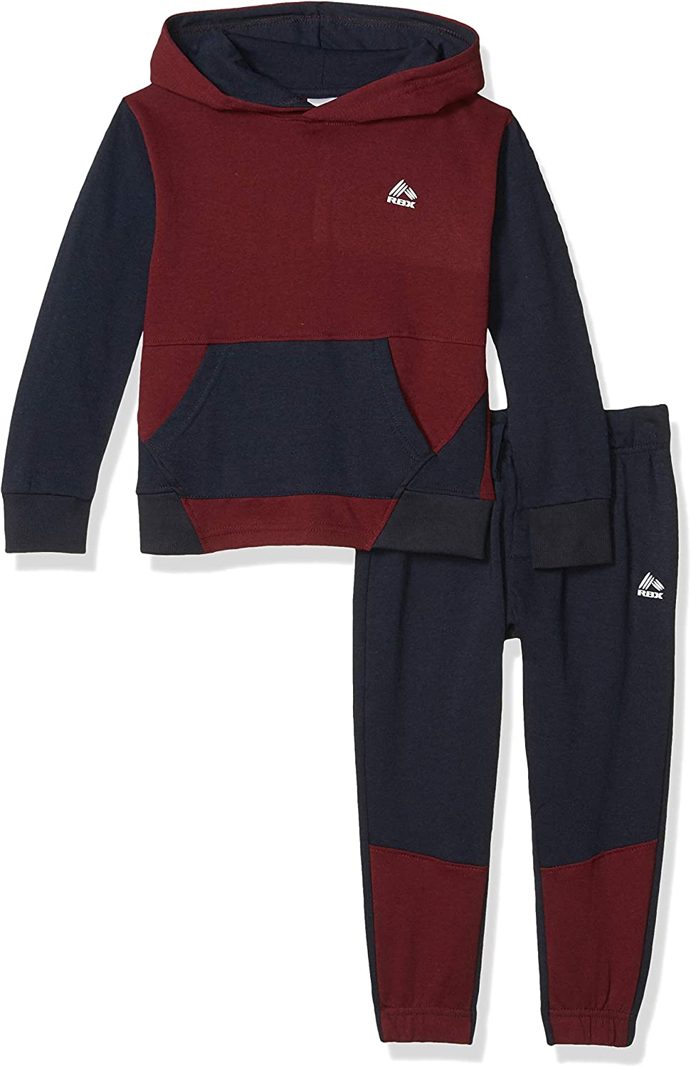 RBX Boys Pullover Fleece Hoodie and Jogger Set