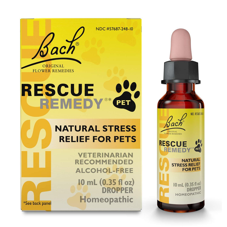 Amazon Com Bach Rescue Remedy Pet Dropper 10 Ml Pet Relaxants