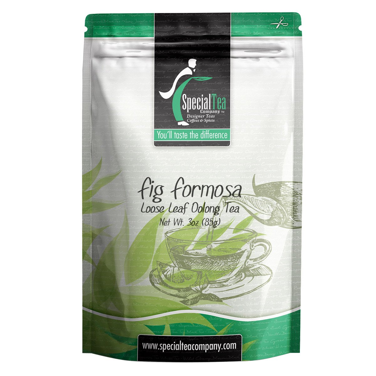 Special Tea Fig Formosa Oolong Tea, Loose Leaf, 3 Ounce by Special Tea