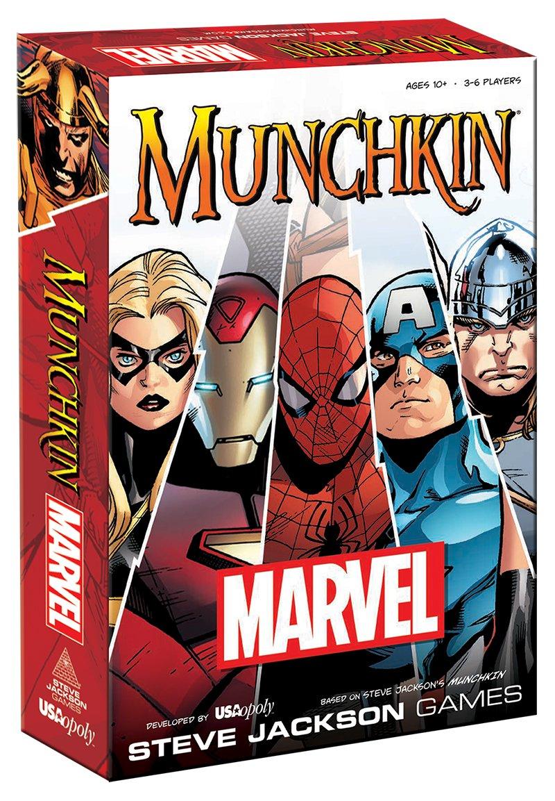 MU011-000-001600-06 Munchkin Marvel Edition USAOPOLY Inc