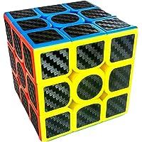 Magic Cube-Cubo rubik Profesional Premium Moyu 3x3, Fibra de Carbono Lubricado, Alta Velocidad, Bordes Redondeados que Permiten Giros Suaves, Alta Durabilidad, Rompecabezas Para Niños y Adultos, Mejora tu inteligencia
