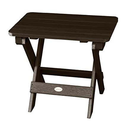 Amazon.com: Highwood Adirondack - Mesa auxiliar plegable ...