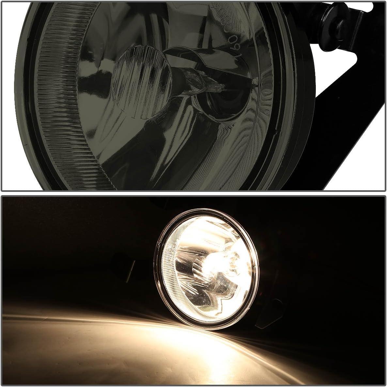 Driver and Passenger Side DNA MOTORING FL-T039-SM Front Bumper Fog Light