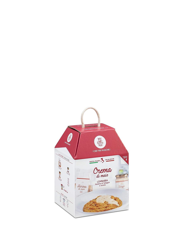 CREMA DE MAÍZ CON QUESO TALEGGIO Y TRUFA My Cooking Box x4 Porciones - Idea regalo para la cena romantica de San Valentín 2019: Amazon.es: Alimentación y ...