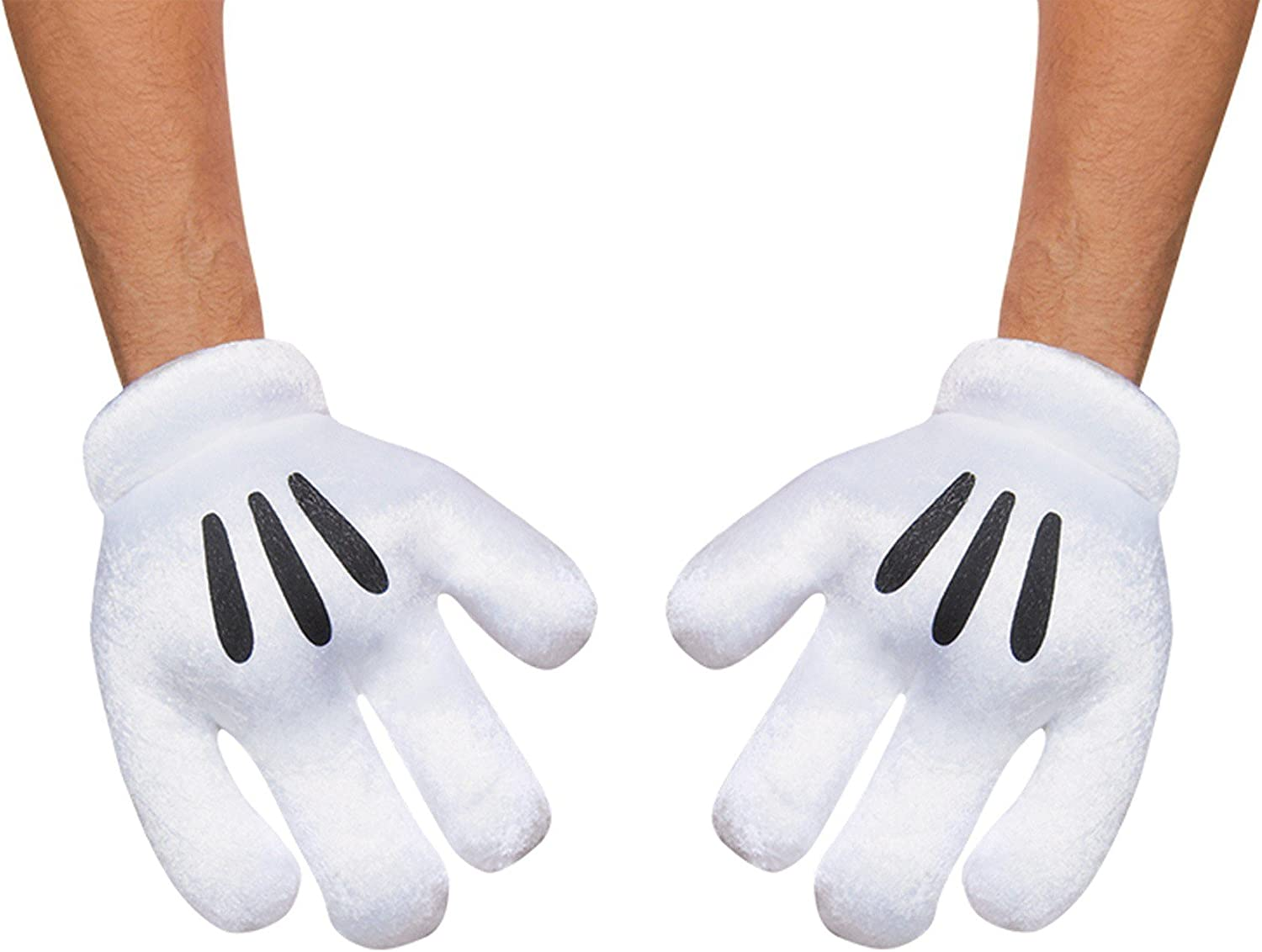 Disney Parks Mickey Mouse Exclusive Mitts Plush Costume Gloves