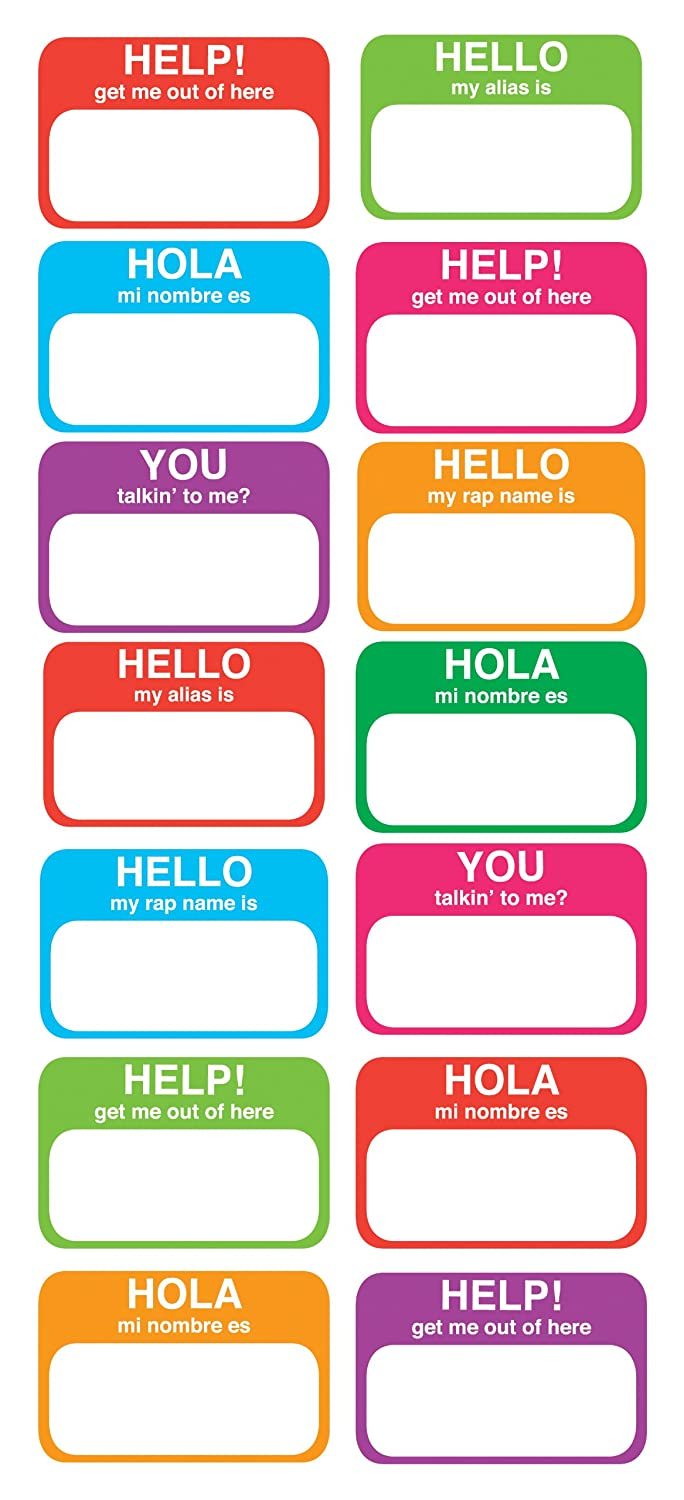 List of Synonyms and Antonyms of the Word: Name Stickers