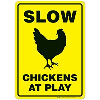 Amazon.com: Cartel de pollos lentos en el juego, cartel de ...