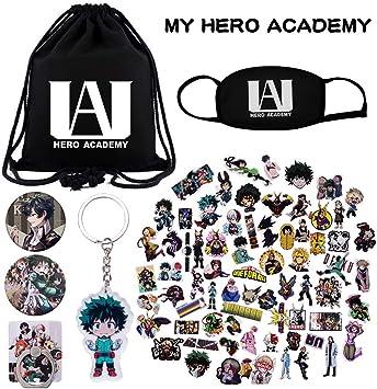 KINON My Hero Academia Set de Regalo – 1 Bolsa con cordón, 73 ...