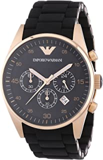 c899168aff59 Emporio Armani Reloj Cronógrafo para Hombre de Cuarzo con Correa en Acero  Inoxidable AR5905