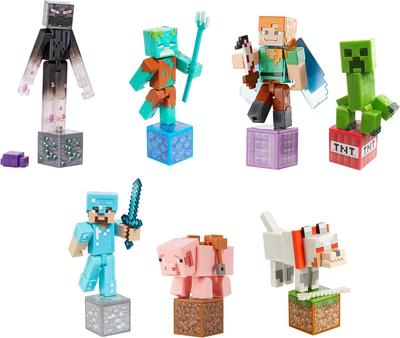 Minecraft Comic Maker Action Figure Assortment, Figures - Amazon