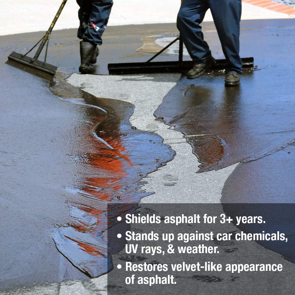Premium Driveway Sealer & Asphalt Sealer | Sealer for Driveways Blacktop & Asphalt | Commercial Grade - 5 Gallon by FDC Chem (Image #6)