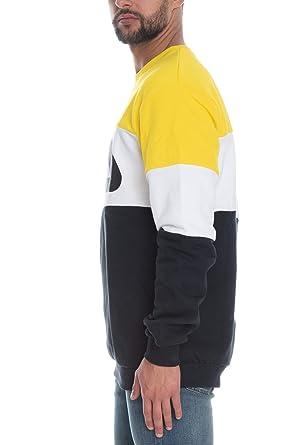1c8032182db Fila 681255 Men Straight Blocked Sweat-Shirt Homme Multicolor XS