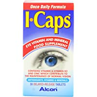 ICaps Lutein and Zeaxanthin Formula 30 Tablets (single pack)