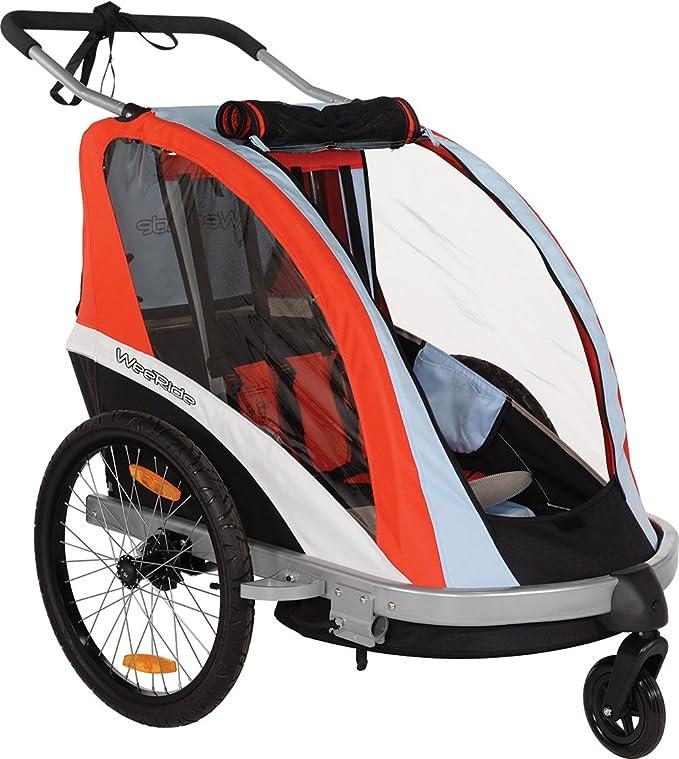 Amazon.com : WeeRide Buggy Go 3 in 1 Bike Trailer/Jogger Stroller : Sports & Outdoors