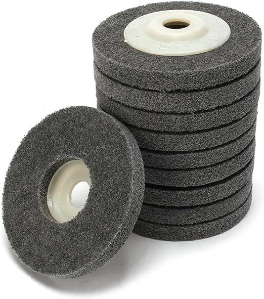 6 Inch Nylon Fiber Polishing Wheel Abrasives Tool Supplies For Surface Deburring