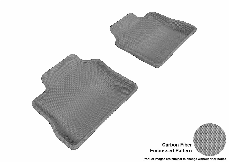 Kagu Rubber L1PO00601509 Black 3D MAXpider Complete Set Custom Fit All-Weather Floor Mat for Select Porsche Panamera Models