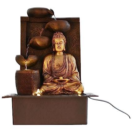 eCraftIndia Great Lord Buddha Water Fountain  Amazon.in  Garden ... e31aa6a2ac