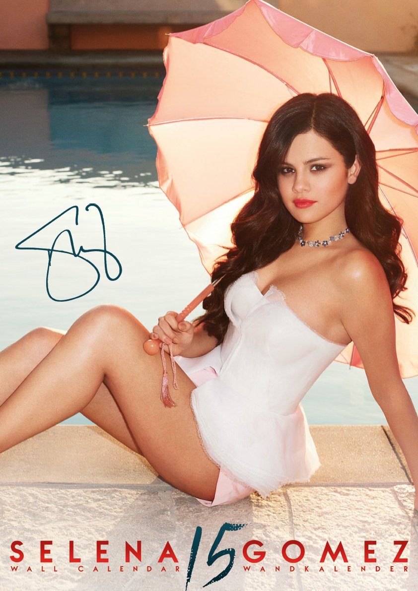 Gomez Selena calendar pictures catalog photo