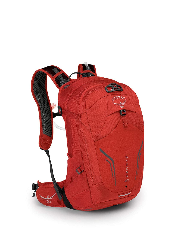 (オスプレー) OSPREY シンクロ20 バイクバックパック (並行輸入品) One Size FIREBELLY RED B07P45SFBF